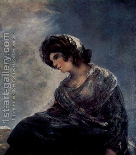 The Milkmaid of Bordeaux by Goya - Reproduction Oil Painting
