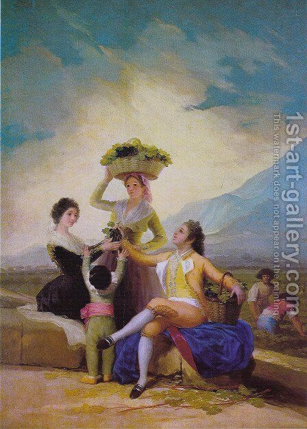 The Vintage by Goya - Reproduction Oil Painting