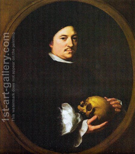 Portrait of Nicolás Omazour by Bartolome Esteban Murillo - Reproduction Oil Painting