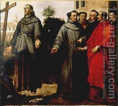 San_Diego by Bartolome Esteban Murillo - Reproduction Oil Painting