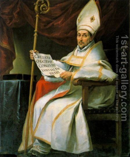 St. Isidor by Bartolome Esteban Murillo - Reproduction Oil Painting