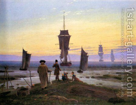 The life stages by Caspar David Friedrich - Reproduction Oil Painting