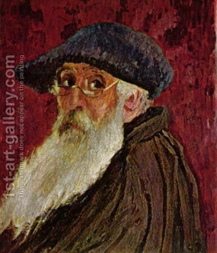Self Portrait 2 by Camille Pissarro - Reproduction Oil Painting