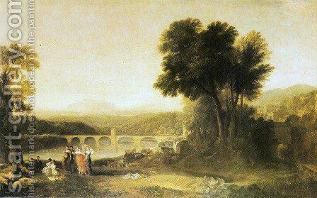 Appulia searching Appulo by Turner - Reproduction Oil Painting