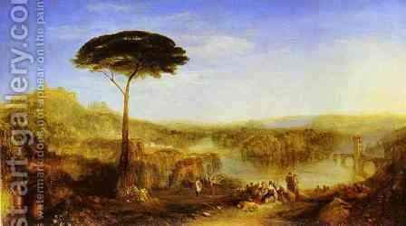 Childe Harold's Pilgrimage by Turner - Reproduction Oil Painting