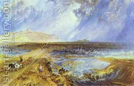 Rye, Sussex by Turner - Reproduction Oil Painting