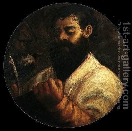 St Mark by Tiziano Vecellio (Titian) - Reproduction Oil Painting