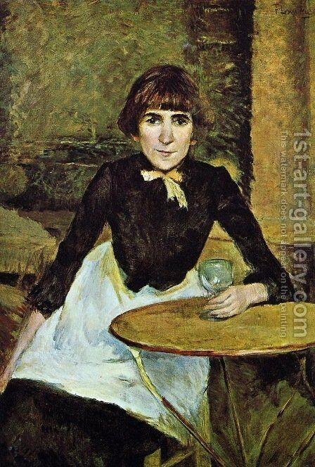 Jeanne Wenz 2 by Toulouse-Lautrec - Reproduction Oil Painting