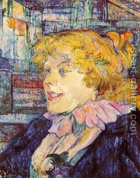 L'Anglaise du Star du Havre by Toulouse-Lautrec - Reproduction Oil Painting
