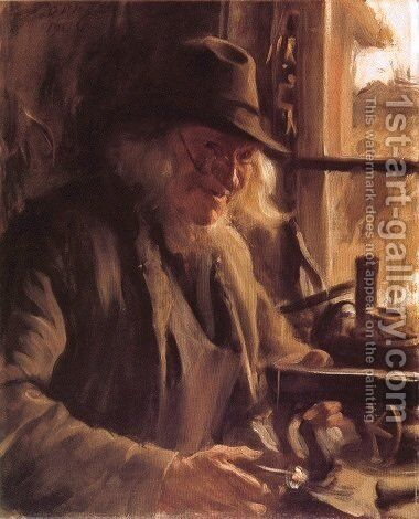 Boslanders by Anders Zorn - Reproduction Oil Painting