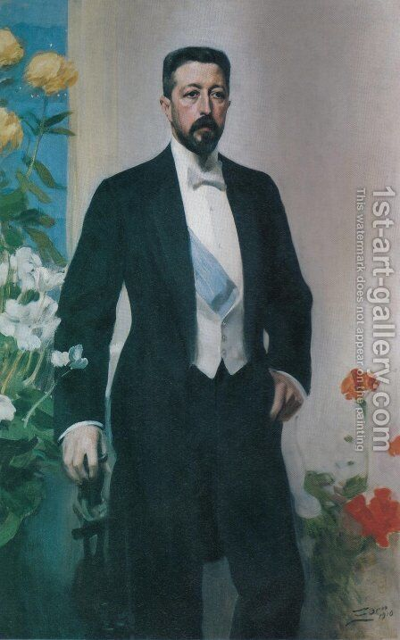 Prins Eugen by Anders Zorn - Reproduction Oil Painting
