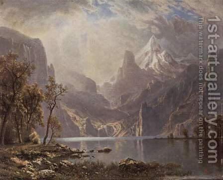 Lake Tahoe 2 by Albert Bierstadt - Reproduction Oil Painting