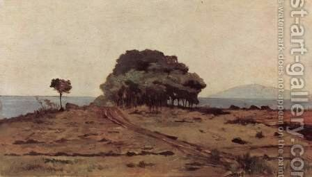 Grove at sea by Giovanni Fattori - Reproduction Oil Painting