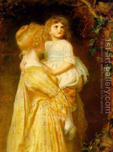 The Nest by Sir John Everett Millais - Reproduction Oil Painting