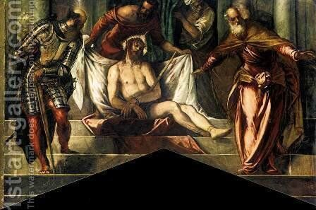 Ecce Homo by Jacopo Tintoretto (Robusti) - Reproduction Oil Painting
