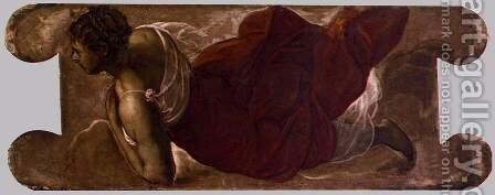 Female figure 2 by Jacopo Tintoretto (Robusti) - Reproduction Oil Painting