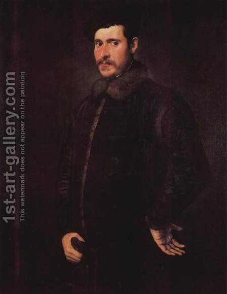 Portrait of a man 3 by Jacopo Tintoretto (Robusti) - Reproduction Oil Painting