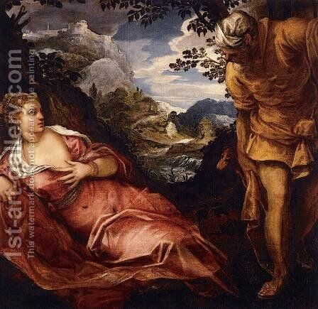 The Massacre of the Innocents (2) by Jacopo Tintoretto (Robusti) - Reproduction Oil Painting