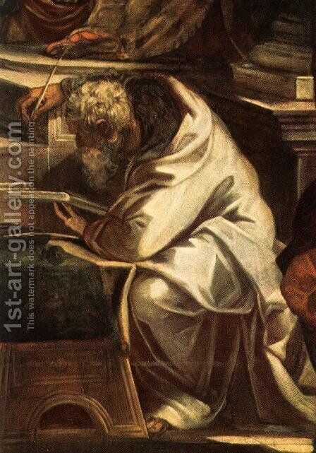 Christ before Pilate [detail 1] by Jacopo Tintoretto (Robusti) - Reproduction Oil Painting
