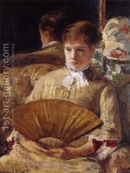 Portrait of a Lady 2 by Mary Cassatt - Reproduction Oil Painting