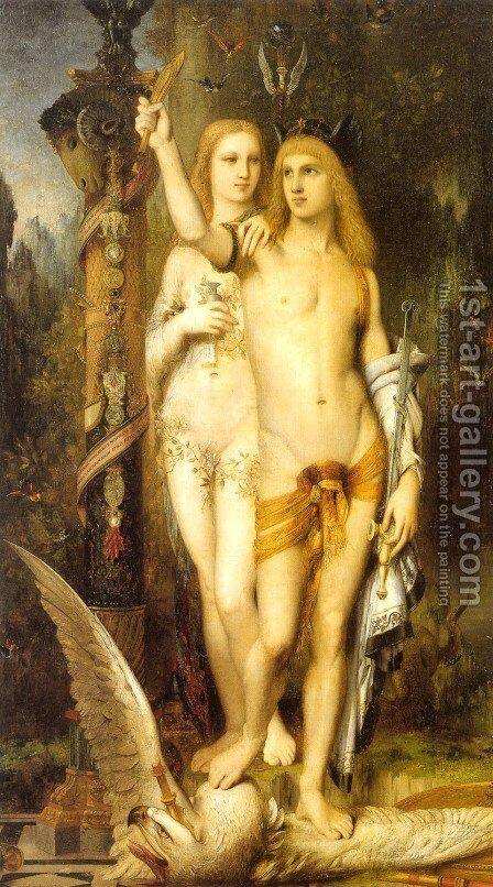 Jason and Medea by Gustave Moreau - Reproduction Oil Painting