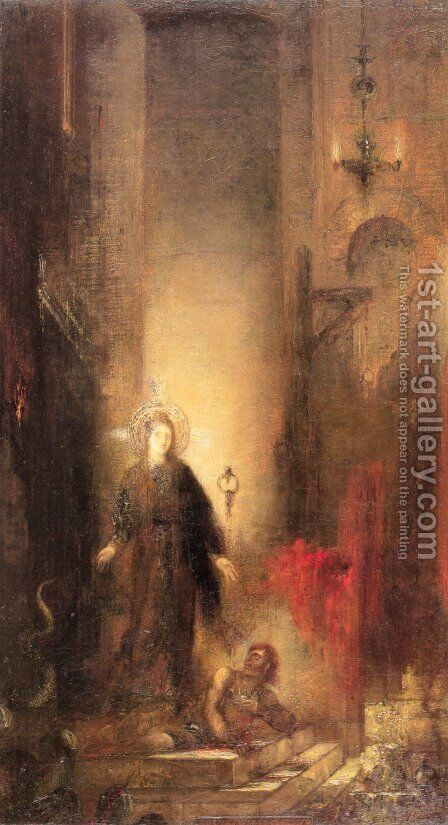 Saint Margaret by Gustave Moreau - Reproduction Oil Painting