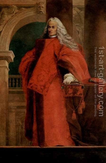 Portrait of a Procurator by Giovanni Battista Tiepolo - Reproduction Oil Painting