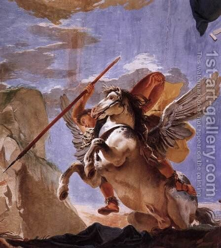 The Force of Eloquence by Giovanni Battista Tiepolo - Reproduction Oil Painting