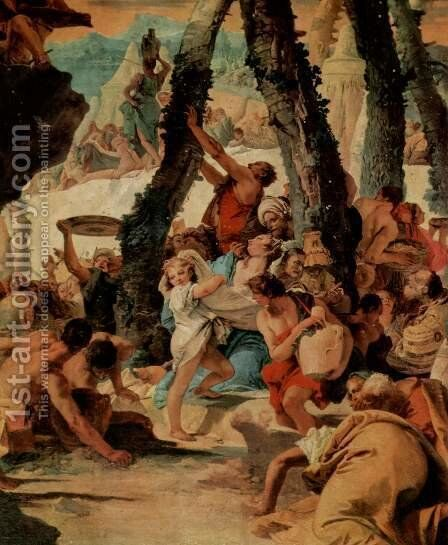 The harvest of divine Segens by Giovanni Battista Tiepolo - Reproduction Oil Painting