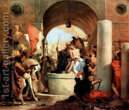 Thorn coronation by Giovanni Battista Tiepolo - Reproduction Oil Painting