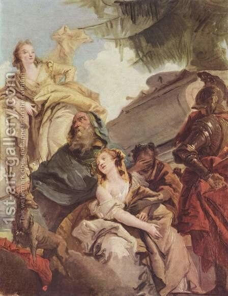 Victims of Iphigenie by Giovanni Battista Tiepolo - Reproduction Oil Painting