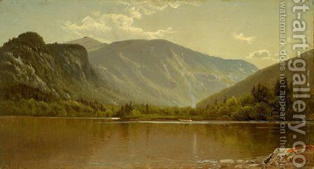 Echo Lake, New Hampshire by Alfred Thompson Bricher - Reproduction Oil Painting