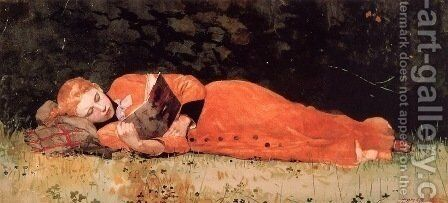 Book by Winslow Homer - Reproduction Oil Painting