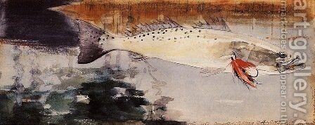 Sea Trout by Winslow Homer - Reproduction Oil Painting