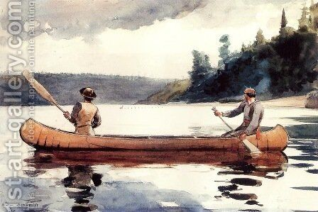 Young Ducks by Winslow Homer - Reproduction Oil Painting