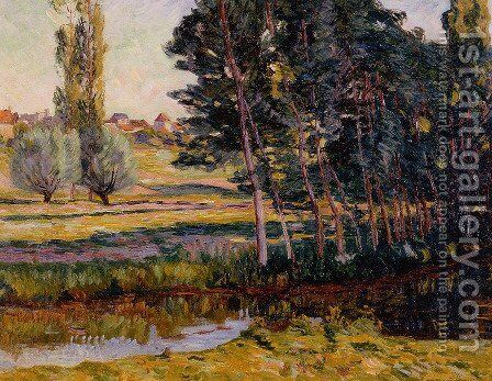 Landscape 4 by Armand Guillaumin - Reproduction Oil Painting