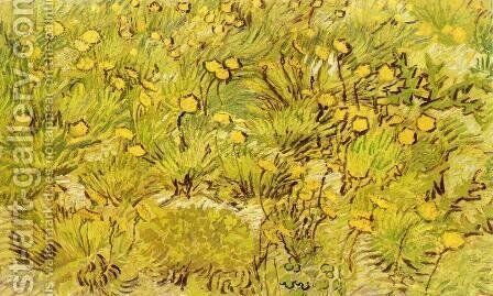 A Field of Yellow Flowers Painting by Vincent