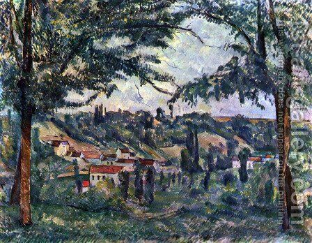Landscape 6 by Paul Cezanne - Reproduction Oil Painting