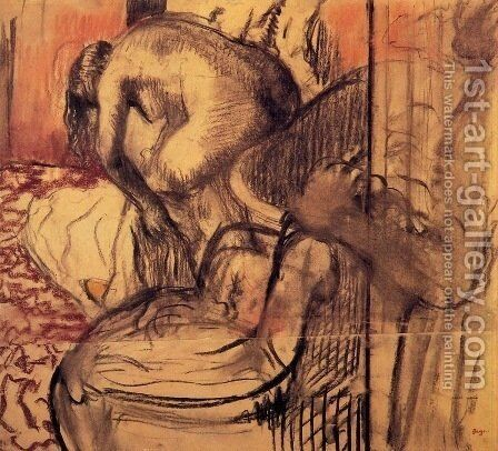 After the Bath 10 by Edgar Degas - Reproduction Oil Painting