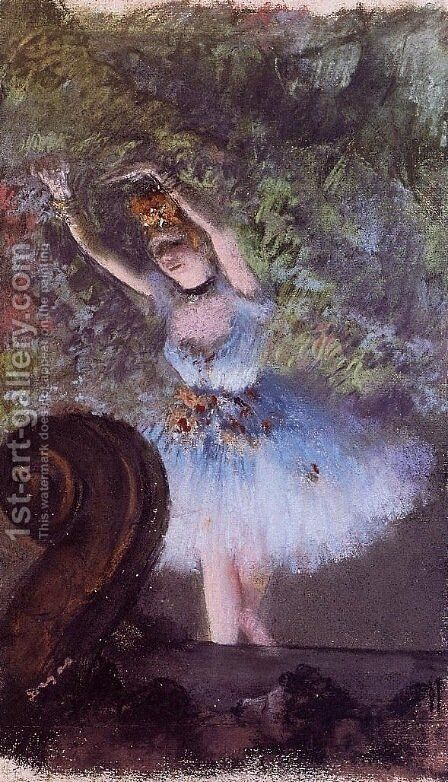 Dancer 3 by Edgar Degas - Reproduction Oil Painting