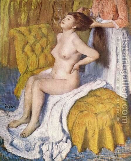 The hygiene by Edgar Degas - Reproduction Oil Painting