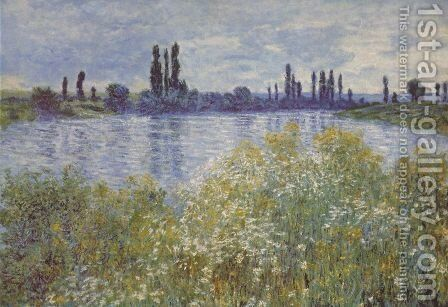 Bank of the Seine. Vétheuil by Claude Oscar Monet - Reproduction Oil Painting