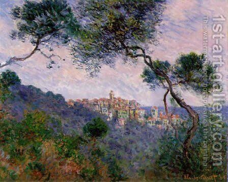 Bordighera 2 by Claude Oscar Monet - Reproduction Oil Painting