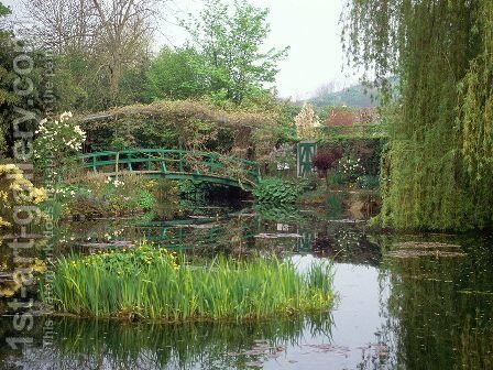Home and Garden of Claude Monet, Giverny, France by Claude Oscar Monet - Reproduction Oil Painting