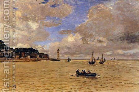 Lighthouse at the Hospice 2 by Claude Oscar Monet - Reproduction Oil Painting