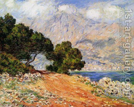 Menton Seen from Cap Martin by Claude Oscar Monet - Reproduction Oil Painting