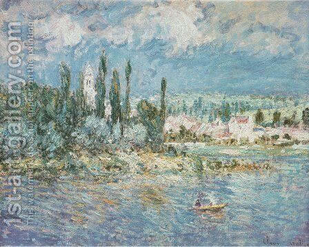 Thunderstorms by Claude Oscar Monet - Reproduction Oil Painting