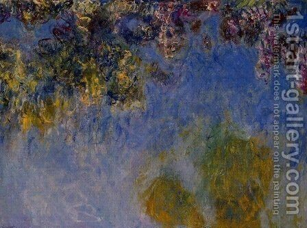 Wisteria 2 by Claude Oscar Monet - Reproduction Oil Painting