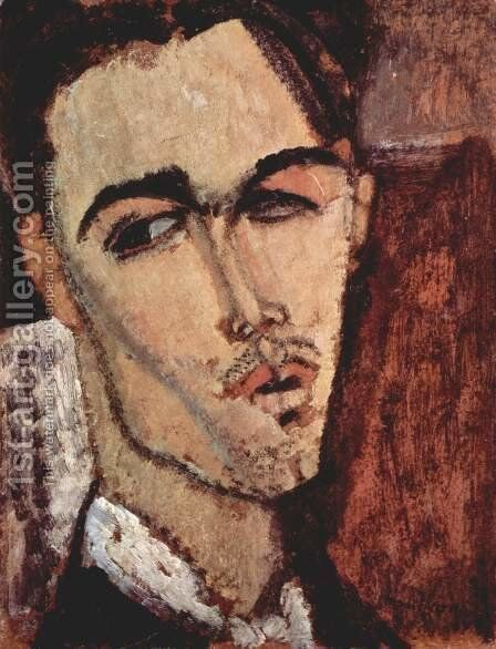 Portrait of Celso Lagar by Amedeo Modigliani - Reproduction Oil Painting