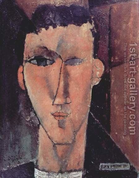 Portrait of Raymond Radiguet by Amedeo Modigliani - Reproduction Oil Painting